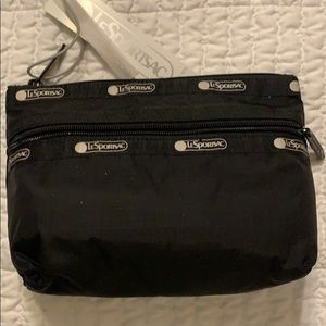 Le Sportsac black bag - brand new - discounted
